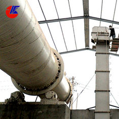 Triple Pass Drum 3 T/H Phosphate Twin Lime Rotary Kiln Dryer